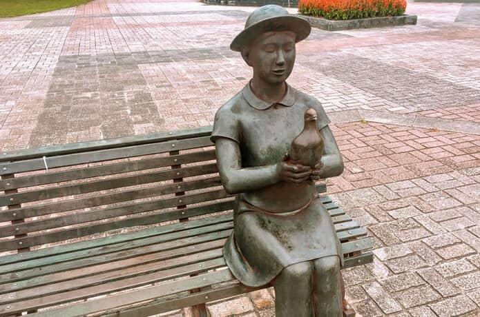 七北田公園 少女の像