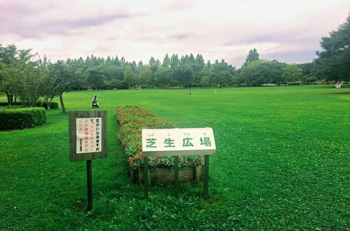 七北田公園 芝生広場